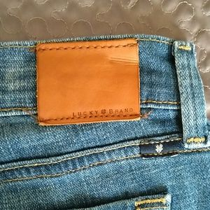 Lucky Brand Jeans - Lucky Brand cropped jeans